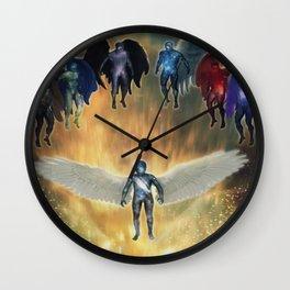 Dei Milites Wall Clock