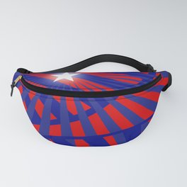 Celebrate Red White and Blue Fanny Pack