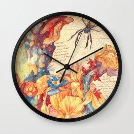 Sketchbook - Fungi Wall Clock