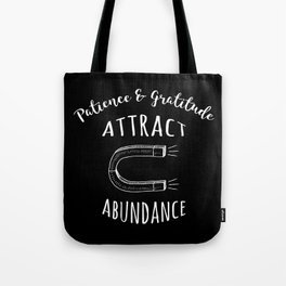 Attract Abundance Tote Bag