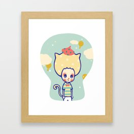 The unknown world Framed Art Print