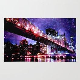 Majestic New York City: Manhattan Bridge Rug
