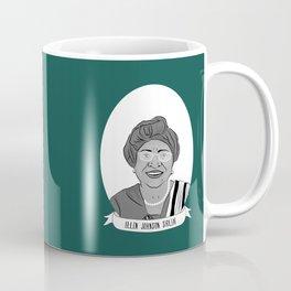 Ellen Johnson Sirleaf Illustrated Portrait Coffee Mug
