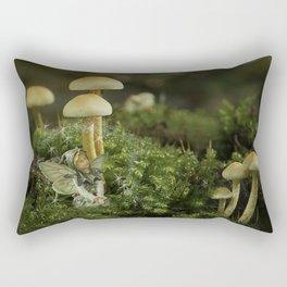 Pixie and 'shrooms Rectangular Pillow