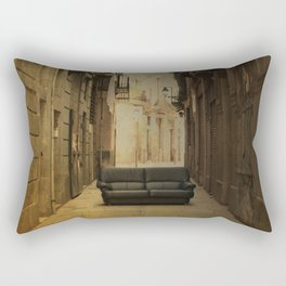 Amazing big things I found in Barcelona's streets Rectangular Pillow