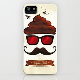 Hipster Hat iPhone Case