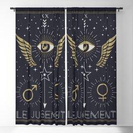 Le Jugement or The Judgement Tarot Blackout Curtain
