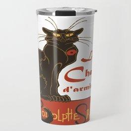 Tournee du Chat Noir D'Armistice Tribute Vector Travel Mug