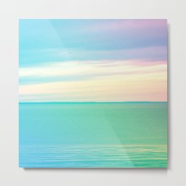 Serenity on Lake Superior Metal Print