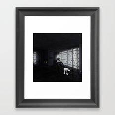 Leashed  Framed Art Print