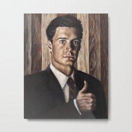 Agent Dale Cooper / Twin Peaks Metal Print