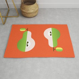 Fruit: Pear Rug