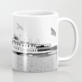 Ticonderoga Steamer on Lake Champlain Coffee Mug