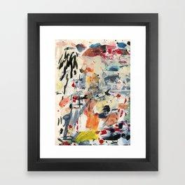 good luck, shallow sky Framed Art Print