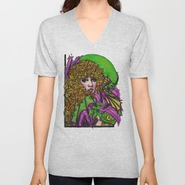 Dragon Lady Unisex V-Neck