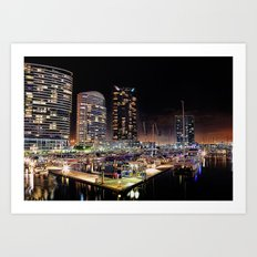 Docklands Art Print