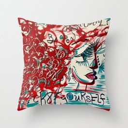 aLl oF mEeE... Throw Pillow