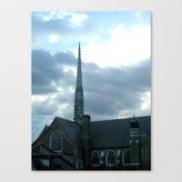 spires Canvas Prints featuring  Spires by Jean Ladzinski