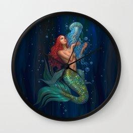 Beautiul mermaid Wall Clock