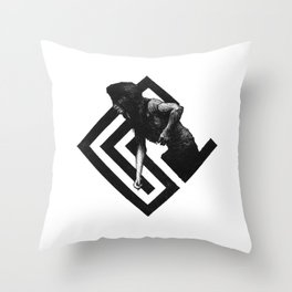 Injured Throw Pillow