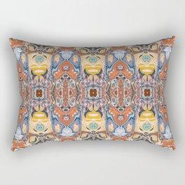 Abstract Tribal Pattern Rectangular Pillow