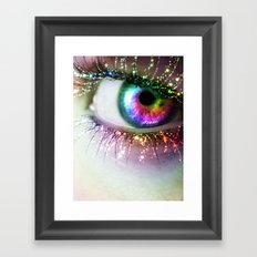 Rainbow Siren Framed Art Print
