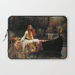 The Lady of Shalott - John William Waterhouse Laptop Sleeve