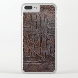 Underneath the Blindfold Clear iPhone Case