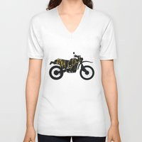 stay gold V-neck T-shirts featuring Stay Gold by Ride The Storm