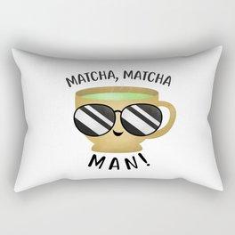 Matcha, Matcha Man (Tea Cup) Rectangular Pillow