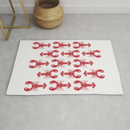 Lobster everywhere Rug