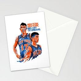 Jeremy Lin: New York, New York, Big City of Dreams. Stationery Cards