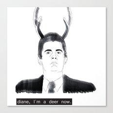Dale Cooper Canvas Print