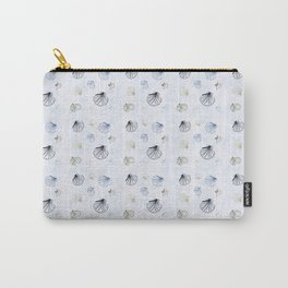 Shell Pattern Carry-All Pouch