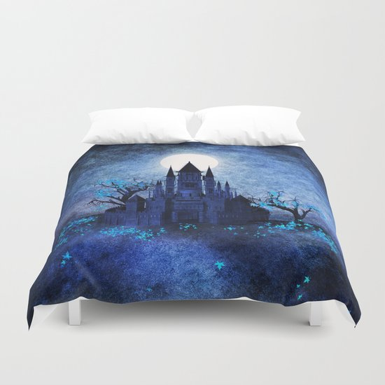 Blue autumn. Duvet Cover