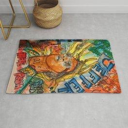 jeffery,poster,lyrics,songs,album,colorful,colourful,portrait,street art,thug Rug