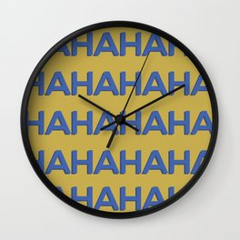 Laugh Out Loud Wall Clock