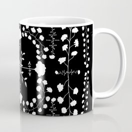 floral gothic Coffee Mug