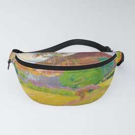 Tahitian Landscape by Paul Gauguin Fanny Pack