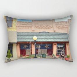 Old Brick Building Rectangular Pillow