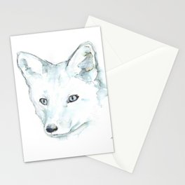 Fox, Watercolor Stationery Cards