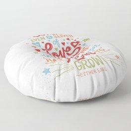 Sliver of Love Floor Pillow