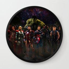 super hero Wall Clock
