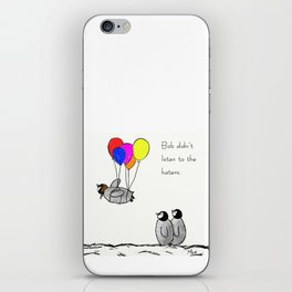 To be a Flying Penguin iPhone Skin
