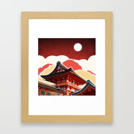 Night in Japan II Framed Art Print