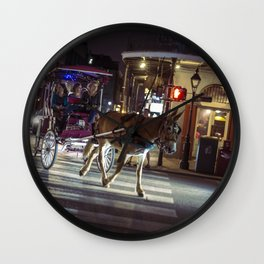 You Are A Good Mule Jeremy Wall Clock