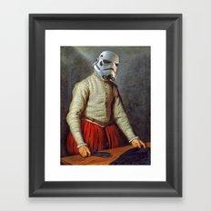 Tailor trooper Framed Art Print
