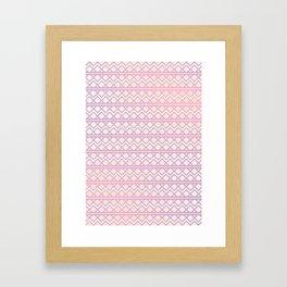 buffting Framed Art Print