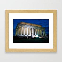 Lincoln Memorial  Framed Art Print