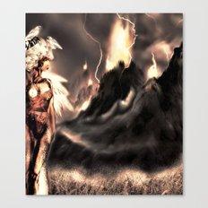 Valley lights Canvas Print